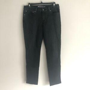 Levi's Demi Curve Modern Rise Skinny Black Jeans